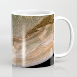 Surface and storms of Planet Jupiter Coffee Mug
