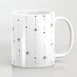 Stars Doodle Pattern Coffee Mug