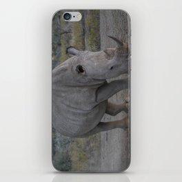White Rhino iPhone Skin