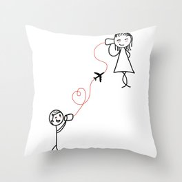 LDS/BASE Throw Pillow
