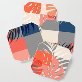 Tropical Puzzle #society6 #decor #buyart Coaster