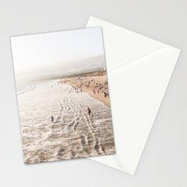 Coast Of California Santa Monica  Photo | Pacific Ocean Beach Art Print | USA Travel Photography Stationery Cards