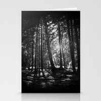 shining Stationery Cards featuring Shining Through by Nicklas Gustafsson