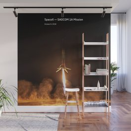 SpaceX — SAOCOM 1A Mission Wall Mural