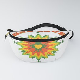 One Love fractal Fanny Pack