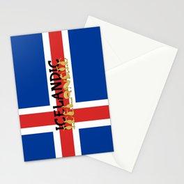 Icelandic Horses Cartoon Stationery Cards