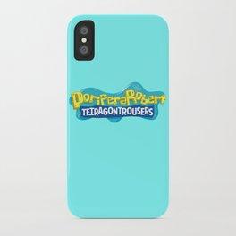 PoriferaRobert TetragonTrousers iPhone Case