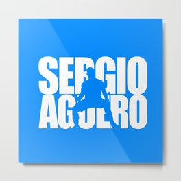 Name: Aguero Metal Print