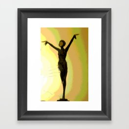 Deco Dance Framed Art Print