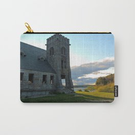In the Shadow of the Old Stone Church  Carry-All Pouch