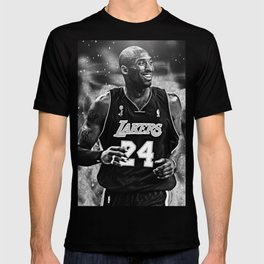K.B King of  Basketball Art Print02 T-shirt