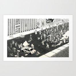 Status Quo Art Print