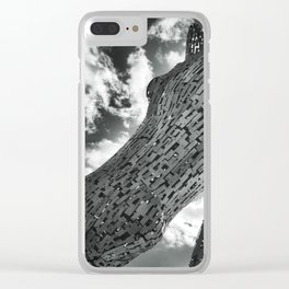 The Kelpies Clear iPhone Case
