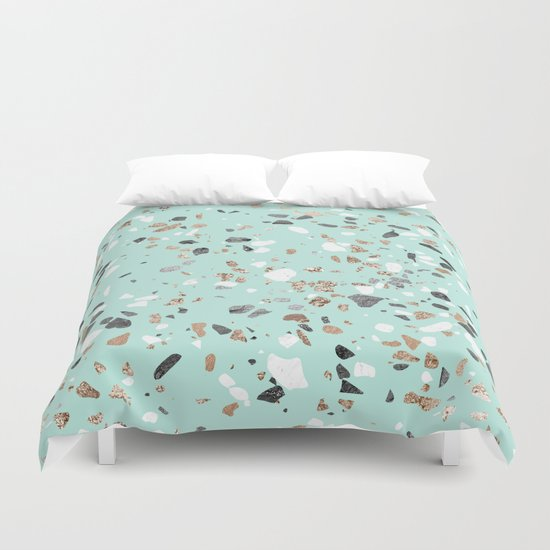 Glitter and Grit Marble Mint Green by followmeinstead