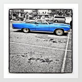 BLUE! Art Print