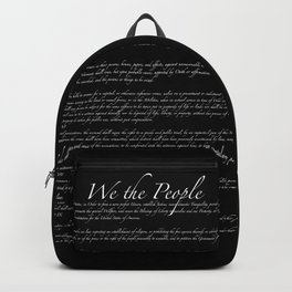 Bill of Rights US Constitution Backpack