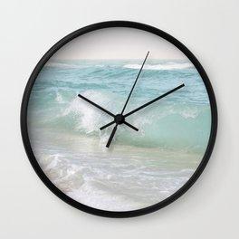 Beach Waves   Photography Summer Vibes   Sun Fun   Water Ocean   Salt   Sea Wall Clock