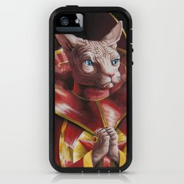 Ming the Fur-ciless iPhone Case