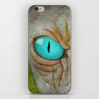 sphynx iPhone & iPod Skins featuring Sphynx by BruceStanfieldArtist.DarkSide