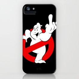 Ghostfinger iPhone Case