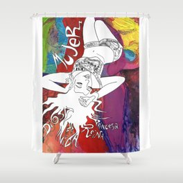 Mujer Shower Curtain