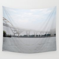 fog Wall Tapestries featuring Fog by Claudia