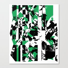 Shattered Box T1 - Green version Canvas Print