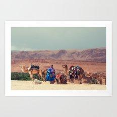 Morocco 2 Art Print