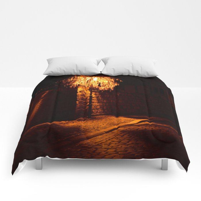 Lamppost  Comforters