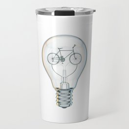 Light Bicycle Bulb Travel Mug