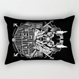 Digital Creative Curious by Vegas Rectangular Pillow