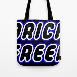 BRICK FREEK in Brick Font Logo Design [Alternate Colors] by Chillee Wilson Tote Bag