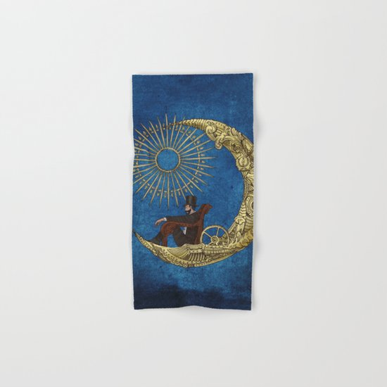 Moon Travel (Colour Option) Hand & Bath Towel