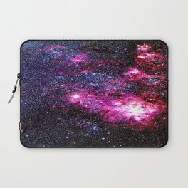 Fuchsia Purple Blue Tarantula Nebula Laptop Sleeve