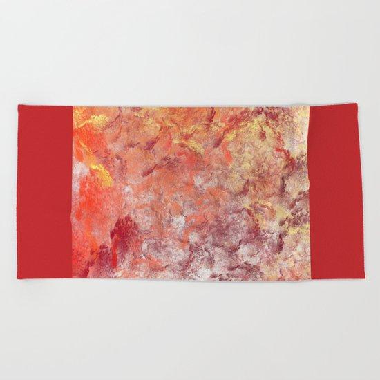 Glaswork (A7 B0194) Beach Towel