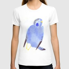 """Un oiseau entend..."" Book cover T-shirt"