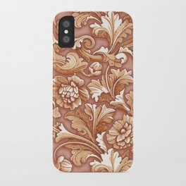 Golden Rose Treasure iPhone Case