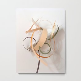 Ephemeral Movement Metal Print