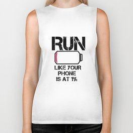 Run Smartphone jogging running Marathon gift gym fitness Sports Biker Tank