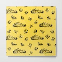 Cheeesy mood Metal Print