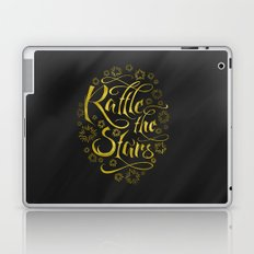 Rattle the Stars (Black) Laptop & iPad Skin