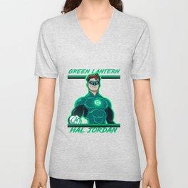 Green Lantern - Hal Jordan Unisex V-Neck