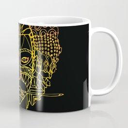 Masque de La Bergère - Noire Coffee Mug