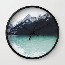 Lake Louise Reflections  Wall Clock