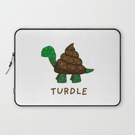 Turdle - Poop - Turtle - 57 Montgomery Art Laptop Sleeve