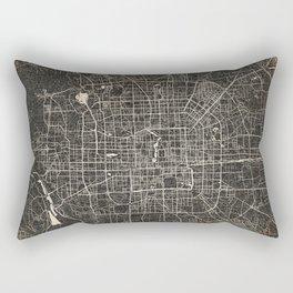 beijing map Rectangular Pillow