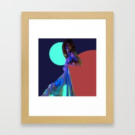 The Nighttime Covers Framed Art Print