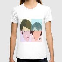 tegan and sara T-shirts featuring TEGAN AND SARA  by NURUL A.