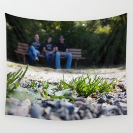All Is Family Wall Tapestry