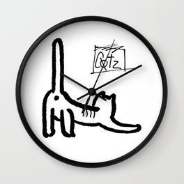 Leeroy Cotz Wall Clock